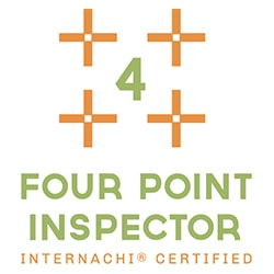 InterNACHI certified Four Point Inspector logo