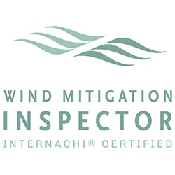 InterNACHI certified Wind Mitigation Inspector logo