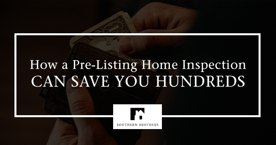 "Image of a home with blog title, ""How a Pre-Listing Home Inspection Can Save you Hundreds"""